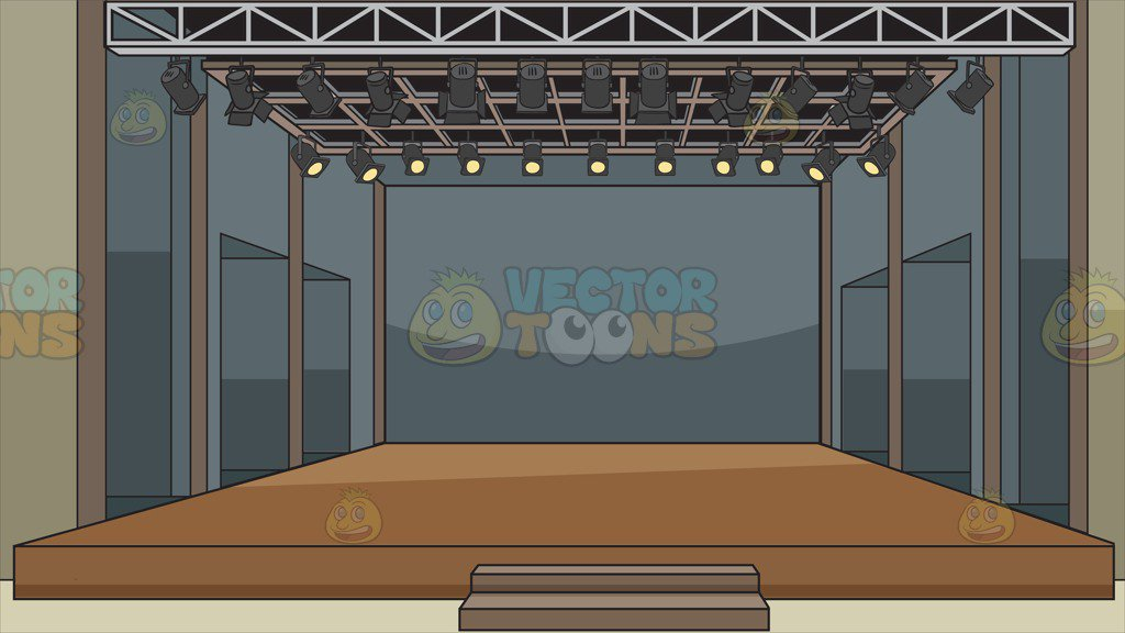 A Theater Stage Background