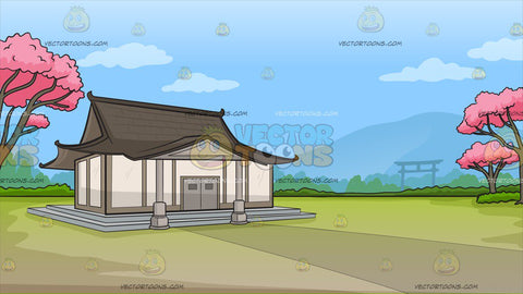 A Traditional Japanese House Background