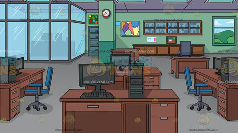 A Typical Office Background
