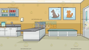 A Veterinary Clinic Background