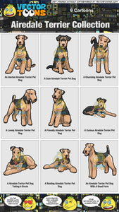 Airedale Terrier Collection