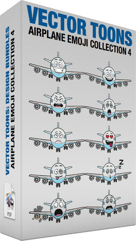 Airplane Emoji Collection 4