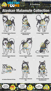 Alaskan Malamute Collection