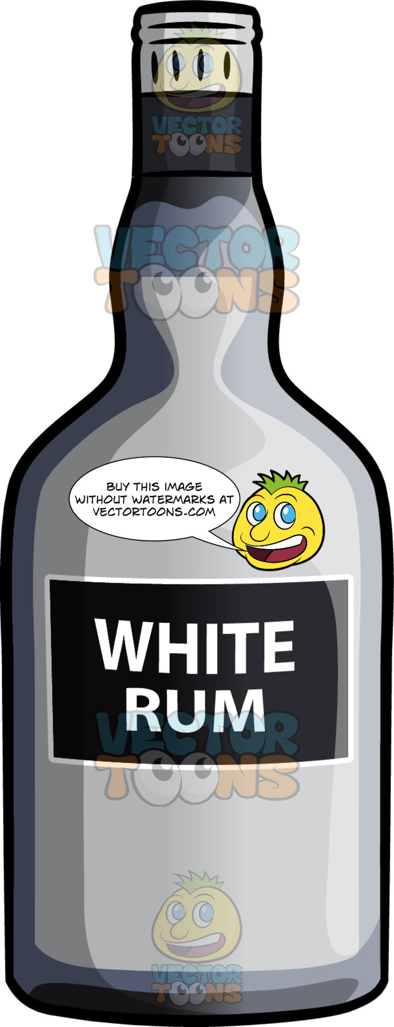 A Bottle Of White Rum