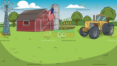 American Farm Background