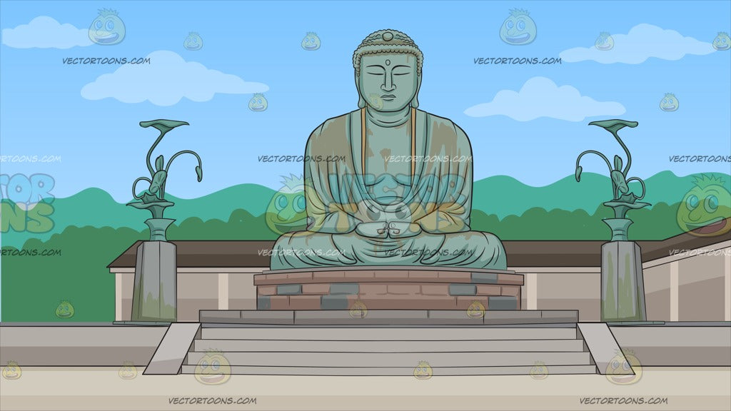 Amitabha Buddha Monument Background