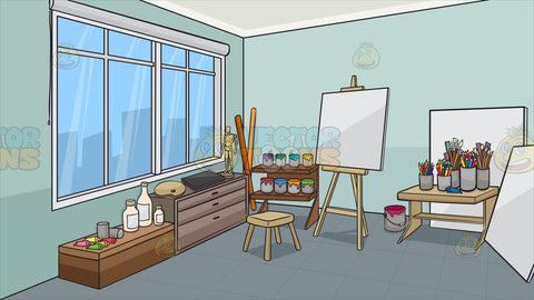 An Art Studio Background