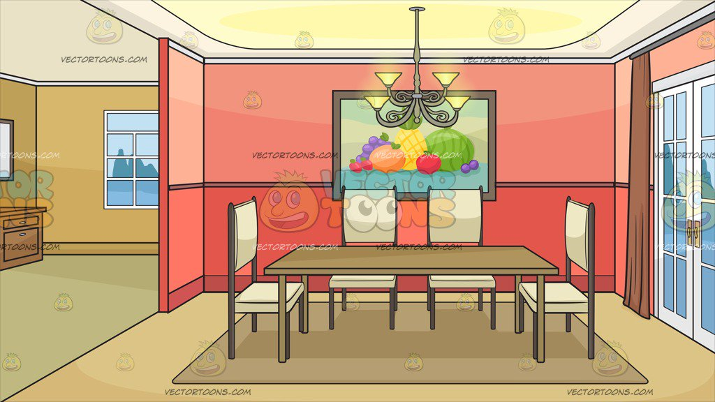 Dining Room Free Vector - Download Free Vectors, Clipart ...