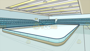 An Indoor Ice Skating Rink Background