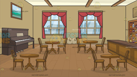 An Old West Saloon Background