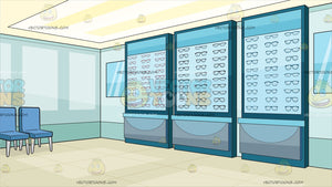 An Optical Shop Background