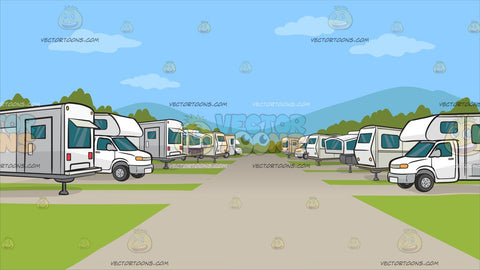An Rv Park Background