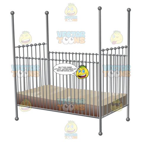 An Elegantly Designed Baby Crib