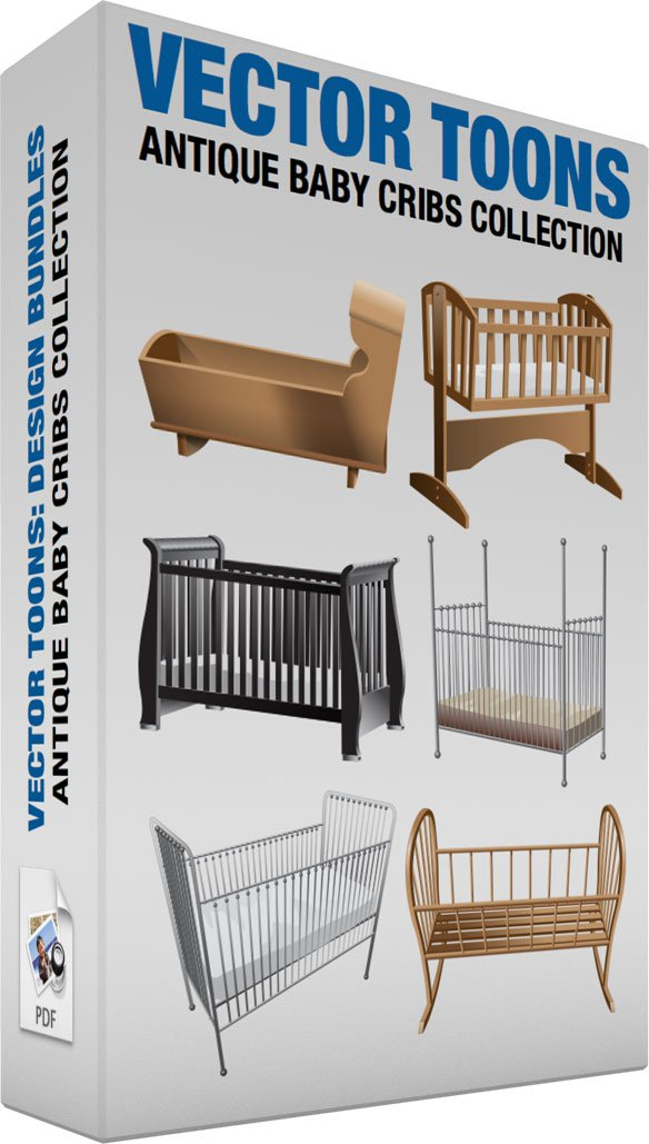 Antique Baby Cribs Collection