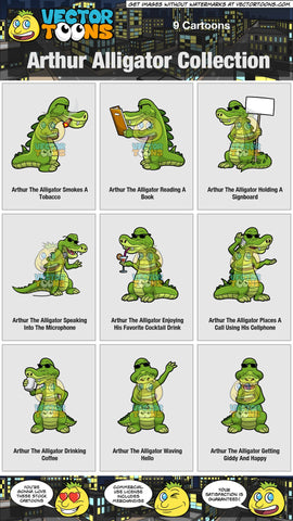 Arthur Alligator Collection