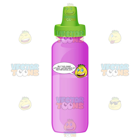 A Colorful Baby Bottle
