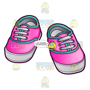 Pink Sneakers For Baby Girls