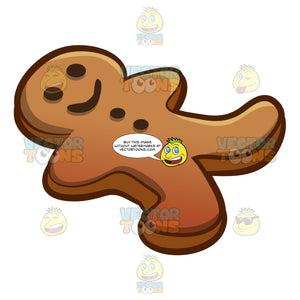A Gingerbread Man Cookie