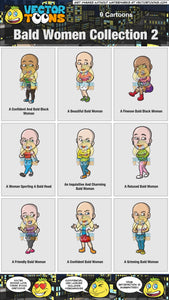 Bald Women Collection 2