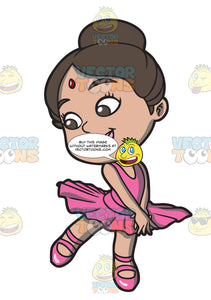 A Little Indian Ballerina