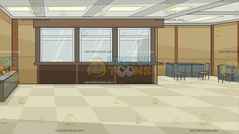Bank Teller Windows Background