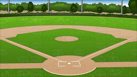 Baseball Diamond Background