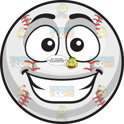 A Happy Baseball