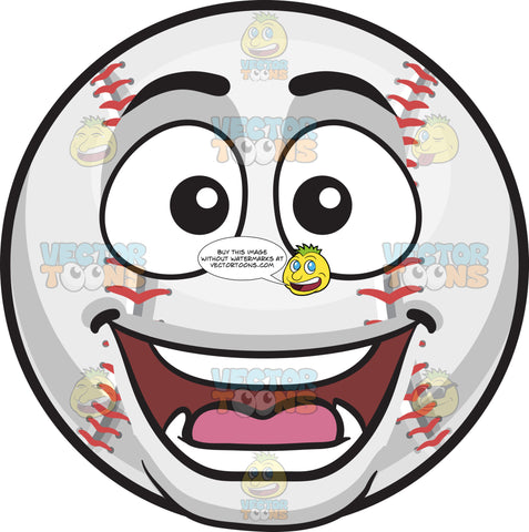A Surprised Baseball
