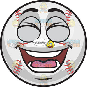 A Laughing Baseball