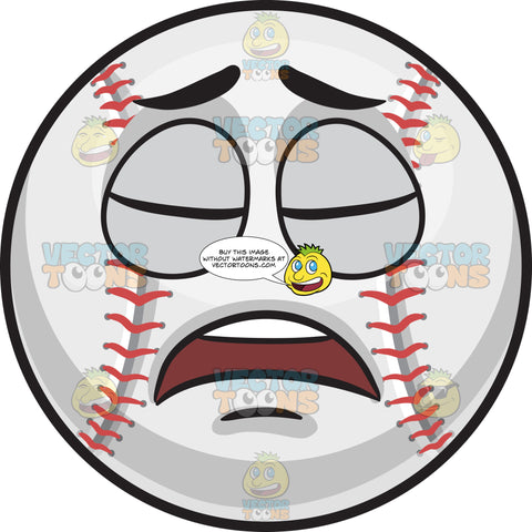 A Disappointed Baseball