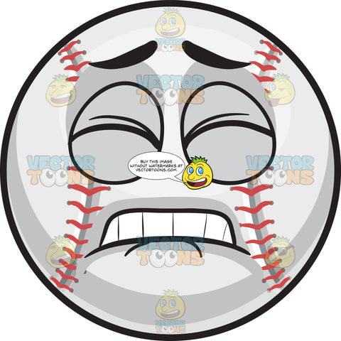 A Pained Baseball
