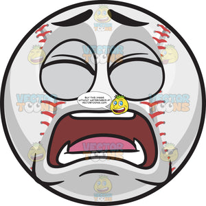 A Frustrated Baseball