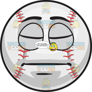 A Sleeping Baseball