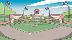Baseball Park Background