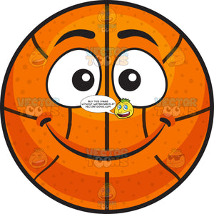 A Smiling Basketball