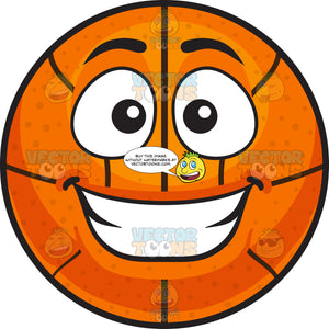 A Happy Basketball
