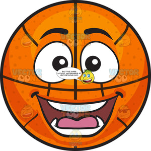 A Surprised Basketball