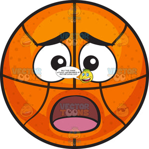 A Shocked Basketball