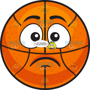 A Sad Basketball