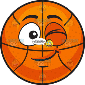 A Winking Basketball