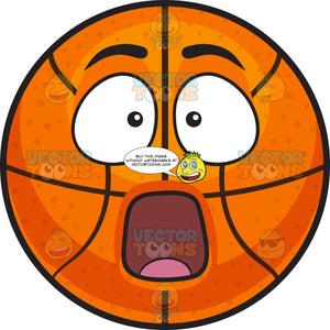 A Stunned Basketball
