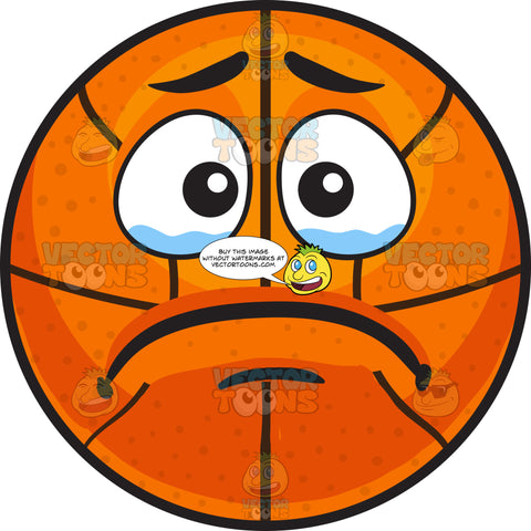 A Crying Basketball