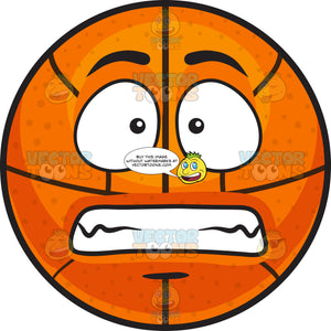 A Scared Basketball