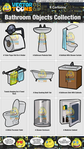 Bathroom Objects Collection