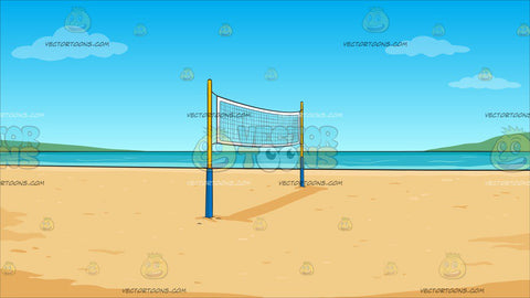 Beach Volleyball Background