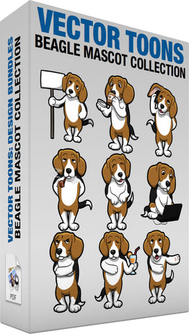 Beagle Mascot Collection