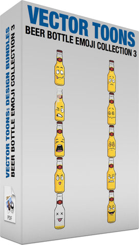Beer Bottle Emoji Collection 3