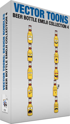 Beer Bottle Emoji Collection 4