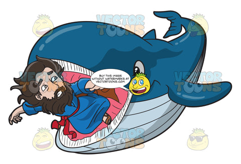 Jonah Being Swallowed By The Whale