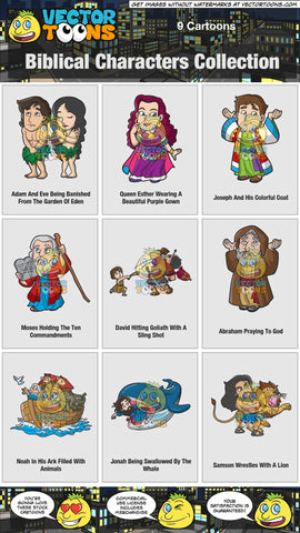 Biblical Characters Collection